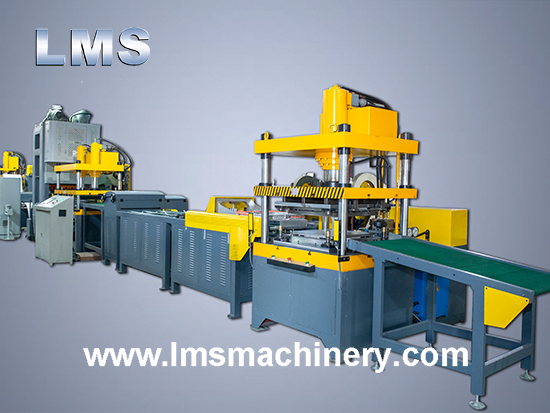 LMS Ceiling Tile 600×600 Full Auto Production Line With Film Applicator