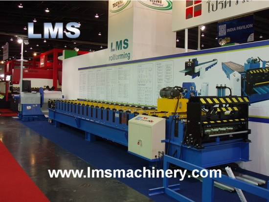 LMS Double Layer Roof Panel Roll Forming Machine