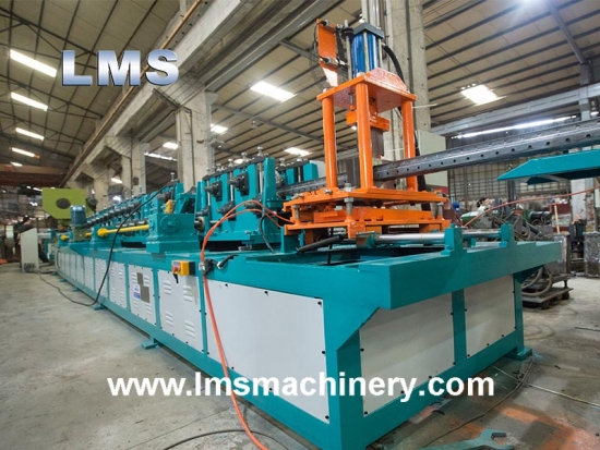 Omega Rack Upright Roll Forming Machine
