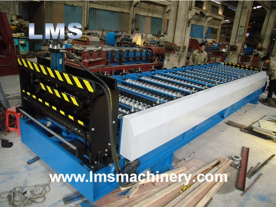 LMS Wall Panel Roll Forming Machine