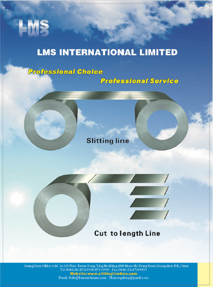 LMS Slitting and Cut-To-Length Machine Catalogue