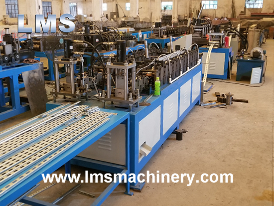 LMS CU CHANNEL ROLL FORMING MACHINE