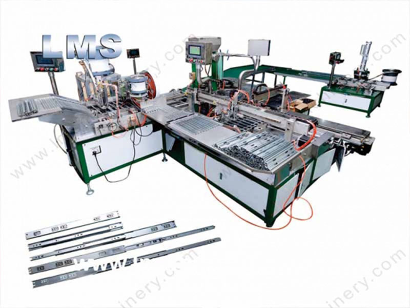 LMS Full Automatic Telescopic Drawer Slide Channel Production Line