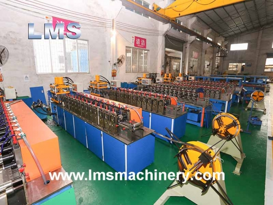 LMS Semi-Auto Telescopic Drawer Channel Production Line