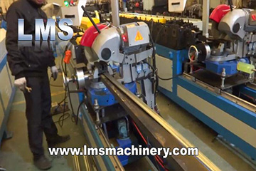 LMS Duct TDC Flange roll forming machine