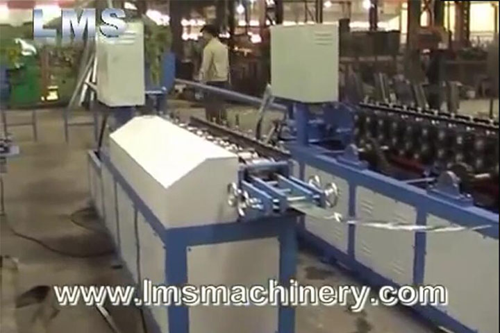 LMS Rolling Shutter System Roll Forming Production Line - Full Version