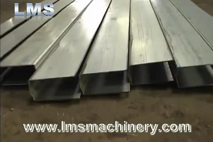 LMS Rolling Shutter System Roll Forming Production Line - Guide Rail
