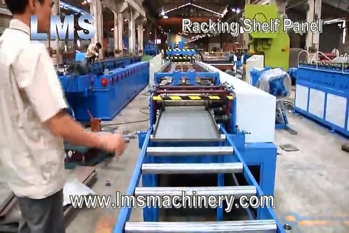 LMS RACKING LIGHT DUTY SHELF PANEL ROLL FORMING