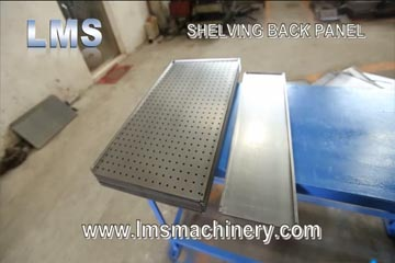 LMS Shelving Panel 200 - 400 Roll Forming Machine