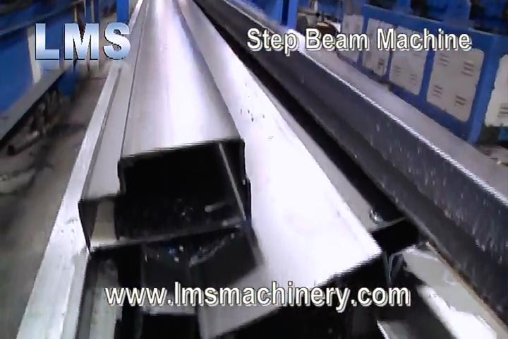 LMS Racking Step Beam Roll Forming