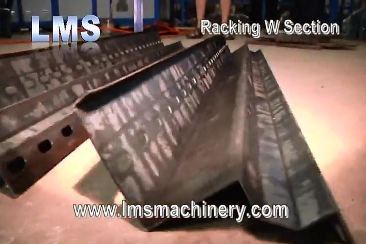 LMS RACKING W SECTION ROLL FORMING