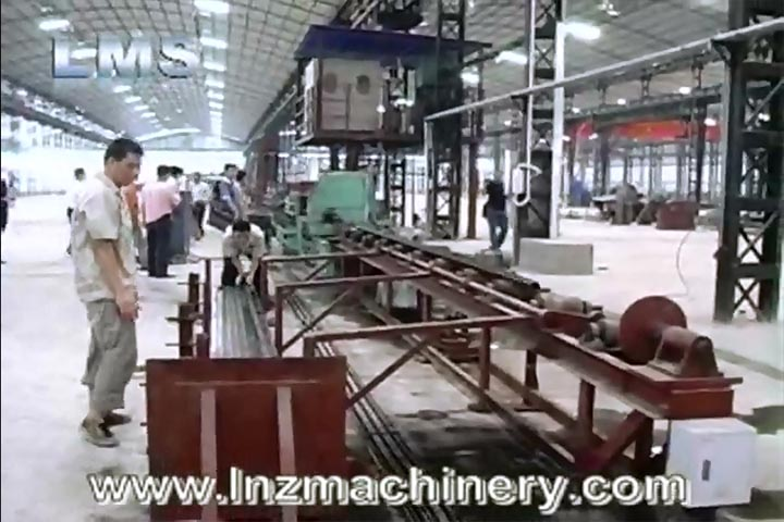 LMS HIGH FREQUENCY WELDING PIPE MAKING MACHINE