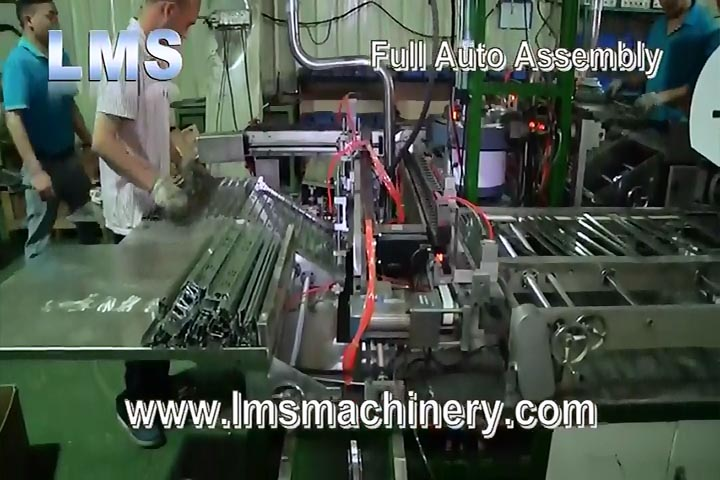 Lms Telescopic Channel Drawer Slide Auto Assembly Line