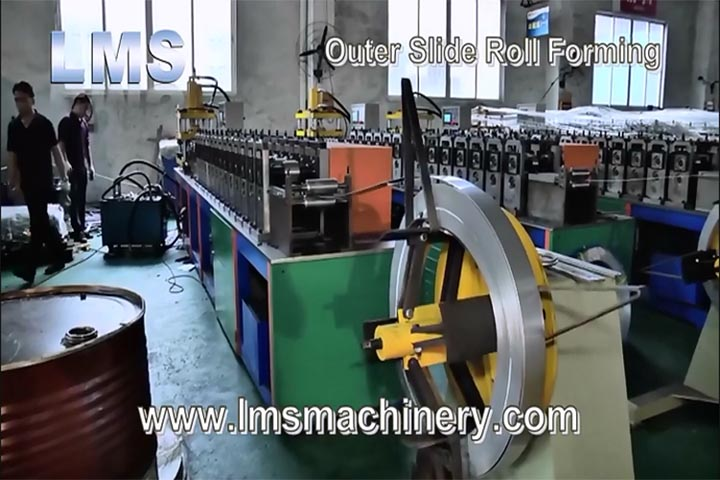 Lms S S  Telescopic Channel Drawer Slide Production Line