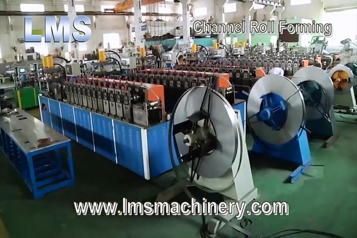 Lms Telescopic Channel Drawer Slide Production Line